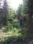 Powder lake trail